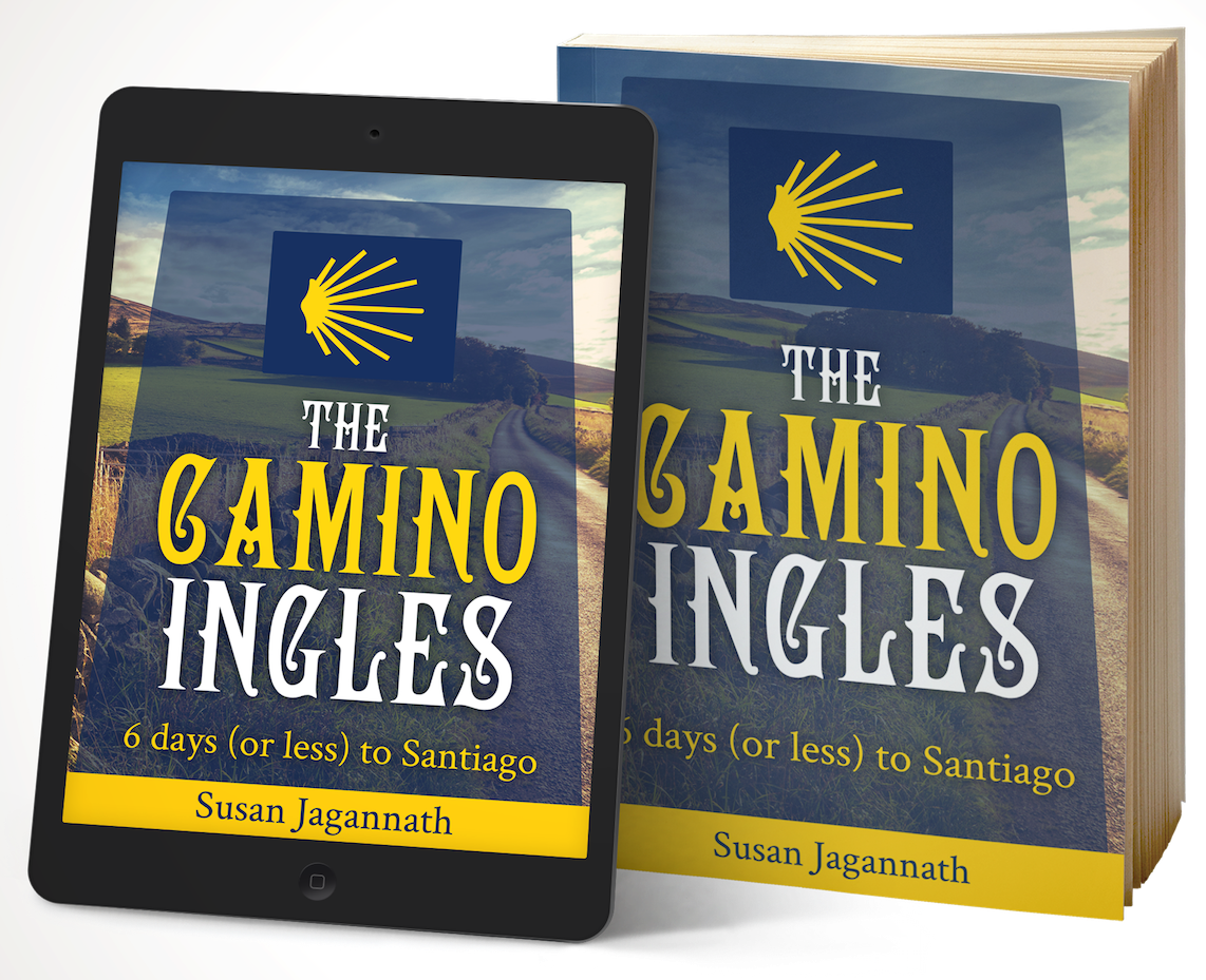 Maps of the towns and villages on the Camino Ingles