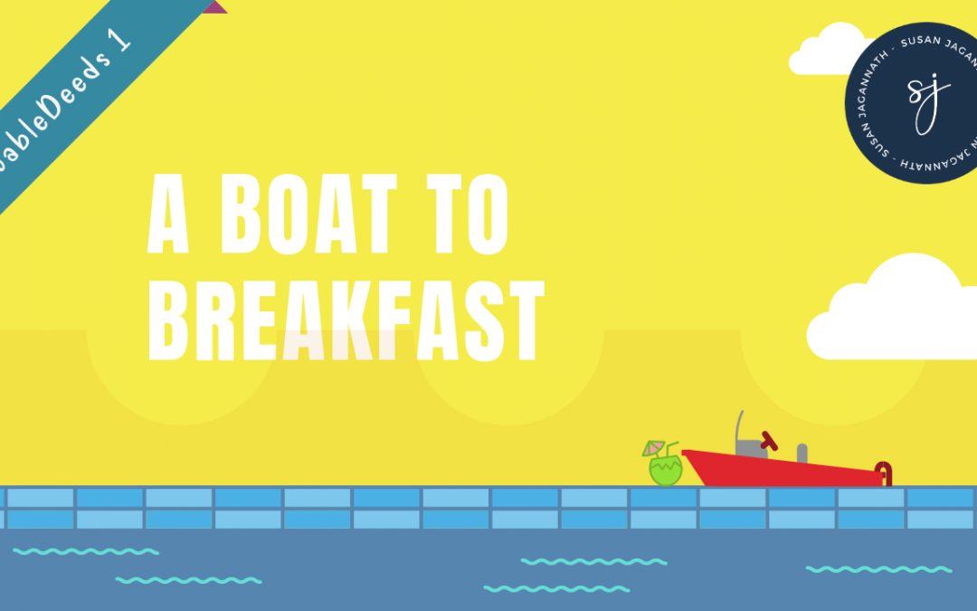 Why breakfast is better after a boat ride