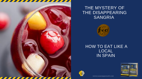 What happened to my Sangria?