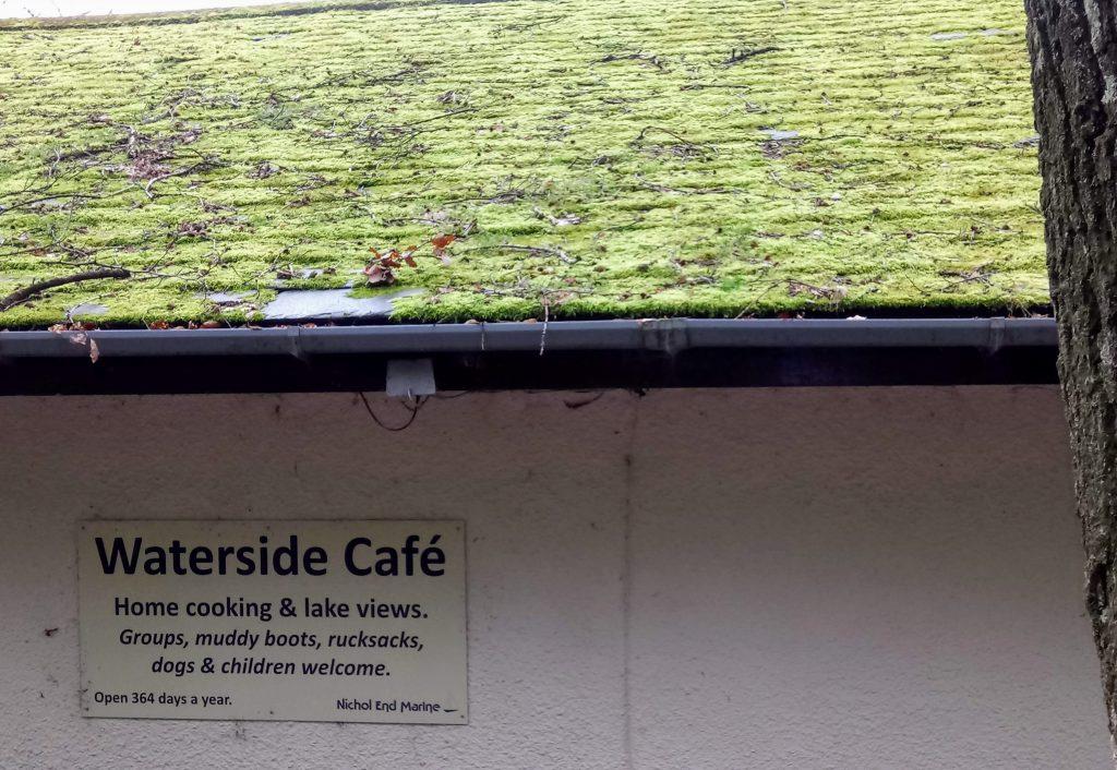 A waterside cafe