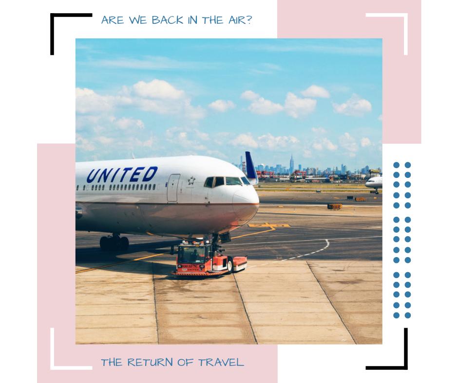 United Jet on the ground