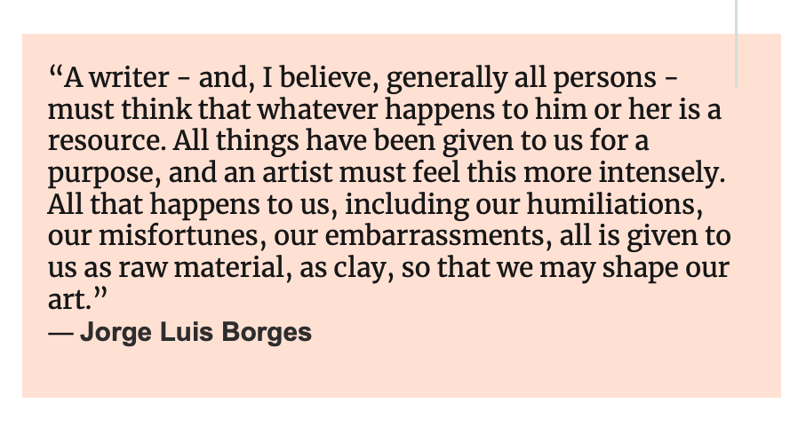 quote from author Jorge Luis Borges